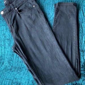 Hudson women black skinny jeans size 26